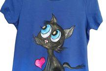 Handmade T-shirts for women