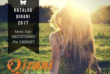 Katalog Kaos Qirani 2017 / agenqirani.com merupaka produsen busana muslim terlengkap di Indonesia. Pemesanan busana muslim trendy dan syar'i hubungi   Nanda CS 1 Qirani  :  SMS: 0857-3173-0007 Whatsapp: +6285731730007 BBM: 536816F7