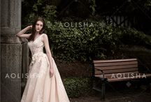 2018 AOLISHA Wedding Dress / In 2010, AOLISHA headquarters were set up in Paris, France. Since then, AOLISHA stores have been opened all around the world. Their typical design is Sweetheart mermaid lace wedding dress with sweep train, Luxurious lace applique long pleated mermaid wedding dress, One shoulder beaded chiffon wedding dress, etc. http://www.knightlybridal.com/Products/Wedding_Dress/Aolisha_Wedding_Dress/
