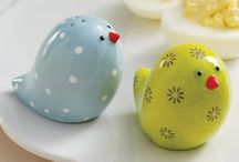 Salt and Pepper shakers / by Patricia Kern Alama