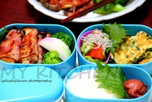 Obento / Obento (packed meal / lunch-box) prepared for family.  #bento #japan #lunchbox #foodie #food #eat #homemade #mykitch3n  https://www.facebook.com/MyKitch3n