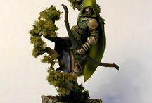 Figurki leśne elfy
