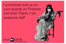 Pinterest-ing! / As you can tell, I'm officially addicted!!  Thanks for visiting - for re-pinning from my boards & for following me! You are always welcome here - I never get upset no matter how many things you re-pin - & I won't block you. My boards are in no way negatively affected by re-pinning!! Come back often!♥ / by GoldDstWmn .