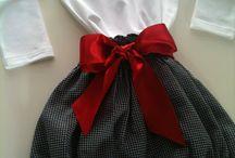 Conjunto calções e blusa para menina / Calções para menina dos 1 aos 24 meses  Blusa desde o 1 mês até 10 anos