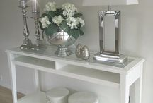 Console tafel decor