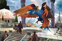 Atlantide // Atlantis / Illustrations & peintures sur le thème fantastique de l'Atlantide // Illustrations & paintings describing the fantastic universe of Atlantis