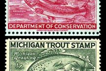 stamps -timbres