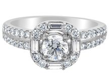 Antique style - Loyes Engagement Rings Dublin / A beautiful collection of antique style engagement rings by Loyes Diamonds Dublin http://loyesdiamonds.ie/type/engagement-rings/antique-style