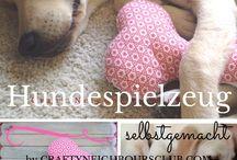 Diy (Nähen, spielzeug für hunde / Diys zum Nähen oder Hundespielzeuge selber machen