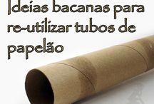 Tubos de papelao