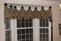 Window Treatments / Valances, shades, rollers and drapes.
