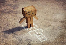 Cute Little Box People!  / I Love these so much because they are made out of Amazon Boxes!  / by Ashlee Roswell