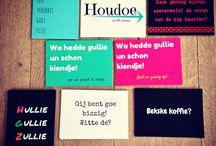Brabantse kaarten! / Omdat het zo leuk is om ons brabants accent te delen !  #brabant