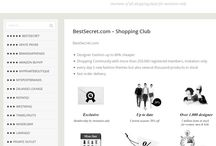 Members Only Shopping Slubs / a lot of members-only shopping sites