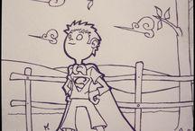 Like a... (superhero) / Like a... (superhero) - illustrations by Marco Simeoni