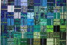 Colorful Quilts & Paintings