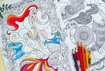 Coloring in