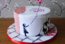 Grimms Banksy cake