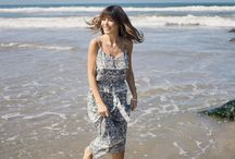 Trend: Here Comes The Sun / A look book photoshoot of all styles inspired by splashes of color and fun summer prints
