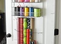 Organization/Storage / Or at least a place for most things.  Organization ideas. / by Julie Durfield