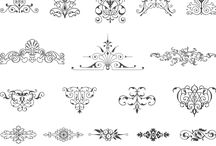 Mendhi  patterns
