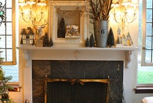 cool mantels / by Katie Taylor