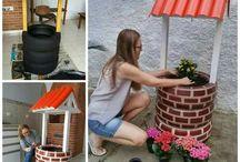 dekoracje  domu i podwórka