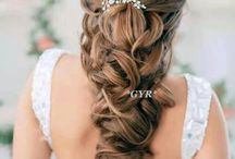 Ball hairstyles / Hairstyles that I like and could possibly use for a school ball/special occasion