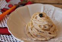 spaghetti alla crema di tonno