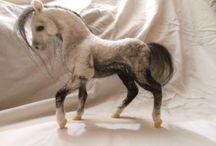 plstění, needle felting, koně, horse,pferde