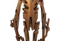 """Concept art """"bots"""" / concept art about robots"""