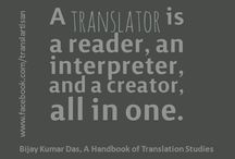 Translation, interpretation