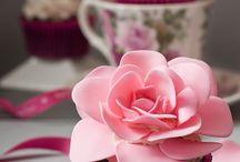 Cake roses etc