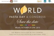 World Pasta Day & Congress Milan 25-27 October 2015 at Expo 2015