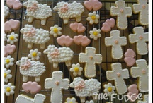 First communion cookies / by Marie Flores
