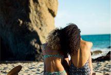 beachy tropical
