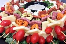 Party Foods / by Maria Zirounis Gross