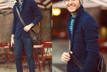 Men's fashion / by Emmanuelle Jeanmarie