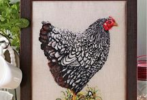 Crafts Embroidery Cross stitch / Love love love this...