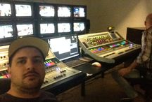 Work / Dslr, tv, shooting