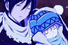 Yato, Yukine & Hiyori / Noragami