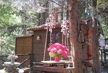 La Casa delle Fate / C'erano una volta tante fatine che viveano in una piccola casa di legno nel cuore del Parco Naturale #SelvaReale. Vieni a visitarla e condividere con le piccole creature fantastiche eventi e magie