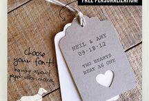 Etiquetas, tags, ideas, sellos / Ideas para realizar con etiquetas, sellos y scrap