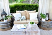 Backyard oasis / Lovely touches for the outside of your home / by Brittanie Tucker