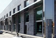 Head Offices Carrara (MS) Italy / Franchi group - head office - showroom - sawmill