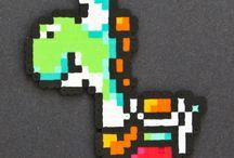 Hama Beads Yoshi / Pyssel