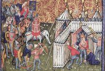 Stany 14. století - tents 14th century