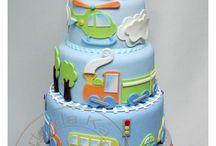 Benjamin birthday cake