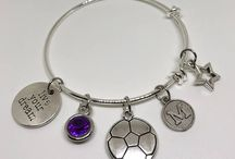 Soccer Jewelry / Gorgeous Custom Soccer Jewelry to energize your passions, inspire your goals and empower your life!  http://lifestyleandsportsjewelry.com/