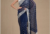 Bridesmaids sarees / by Heena Virani